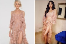 Janhvi Kapoor is Dressed to Kill in Risqué Nude Cocktail Dress on Koffee With Karan