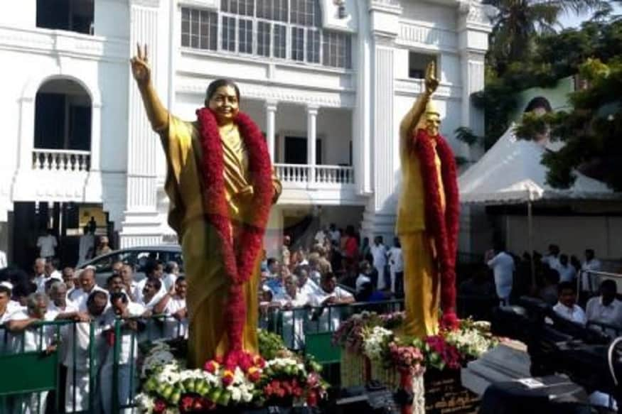 After Backlash Over Statue Not Resembling Jayalalithaa, AIADMK Unveils New One