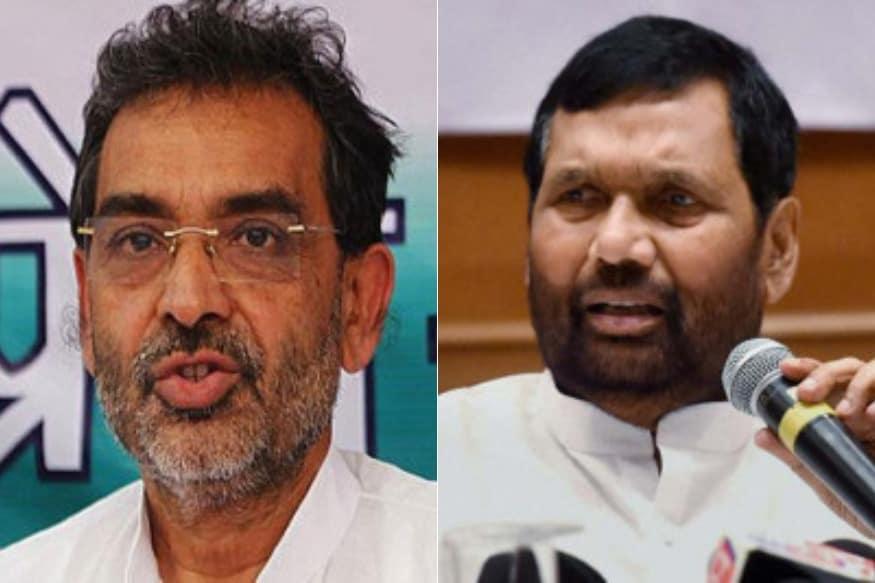 Paswan, Kushwaha Reject 50-50 Formula for Bihar; Demand Same Number of Seats As in 2014 Lok Sabha Polls