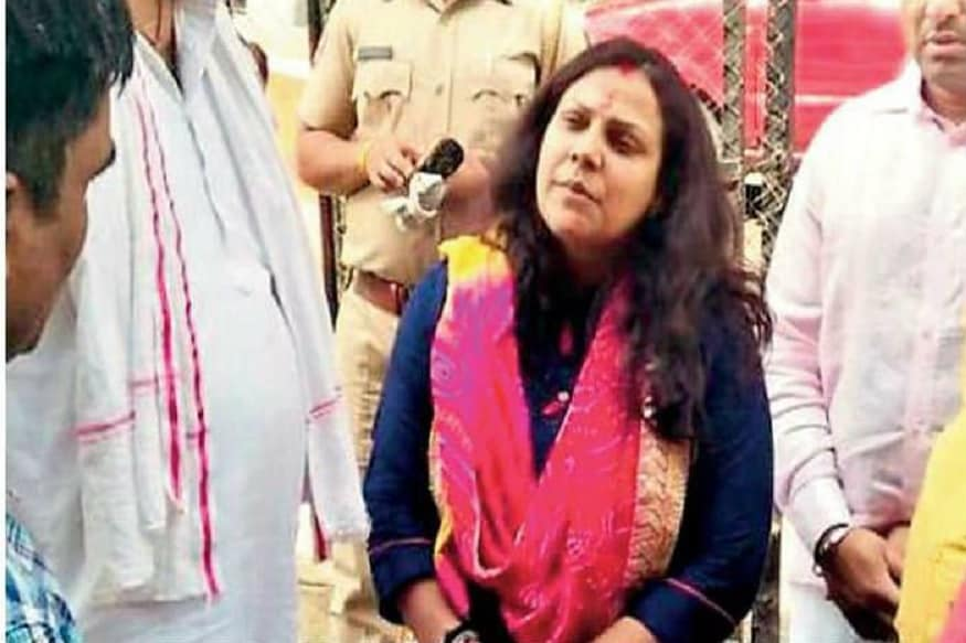 IPS Officer's Wife Mukul Chaudhary Visits 10 Janpath, Likely to be Vasundhara Raje's Challenger From Jhalrapatan