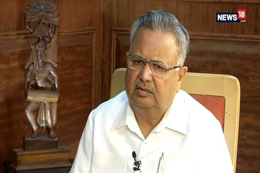 File photo of former Chhattisgarh chief minister Raman Singh.