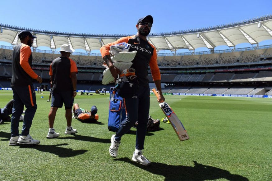 In Pics | Team India Sweats it Out Ahead of Perth Test