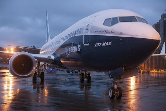 File photo of Boeing 737 MAX. (Image: Reuters).