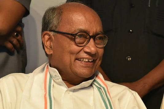 File photo of Congress leader Digvijaya Singh.