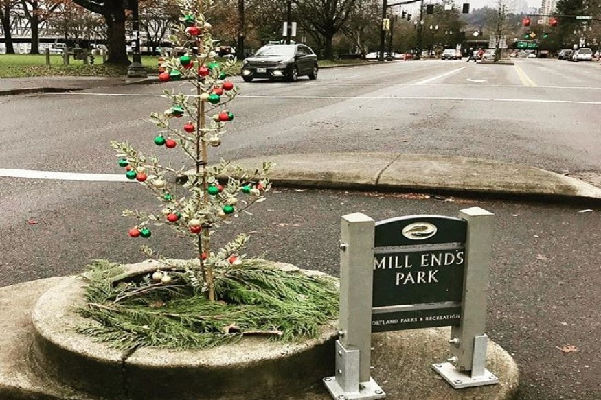 The Smallest Park in the World is Big On Christmas; Check It Out