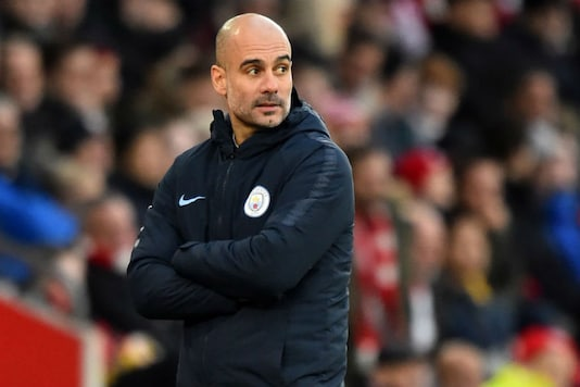 Pep Guardiola said his players can think about the quadruple but the reality is the next game at Cardiff.