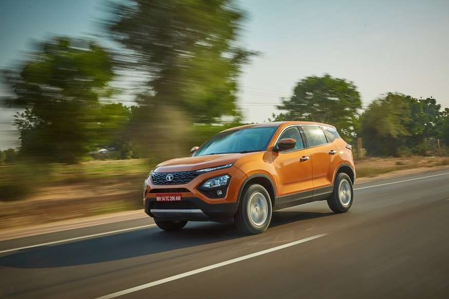 Tata Harrier SUV. (Image: Tata Motors)