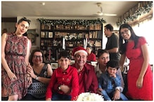 Kapoor Christmas Lunch: Taimur Steals the Show Again, Ranbir Kapoor Makes a Rare Appearance