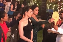 Zero: Karisma Kapoor Shares Behind the Sets Picture With Sridevi
