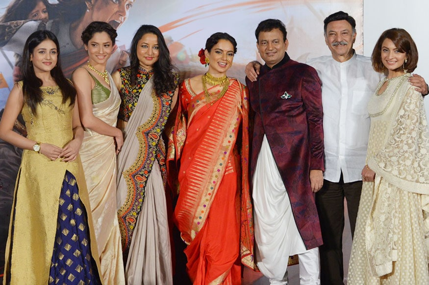 Photos Manikarnika The Queen Of Jhansi Trailer Launch Photogallery