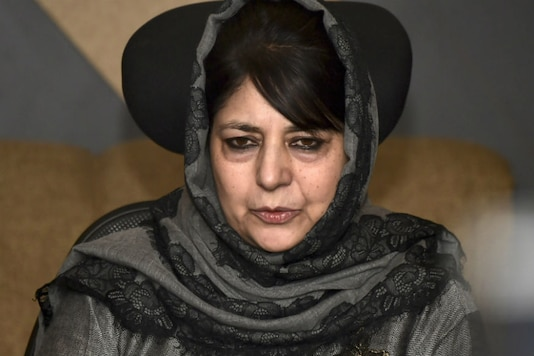 File photo of PDP chief Mehbooba Mufti.