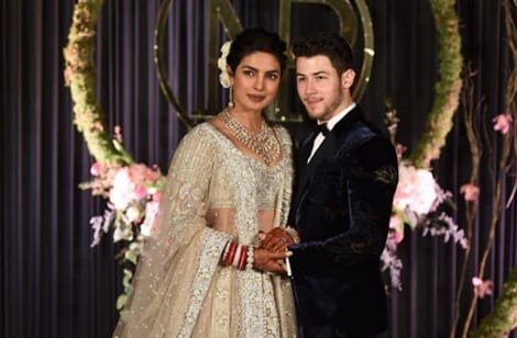 Nick jonas priyanka chopra wedding reception