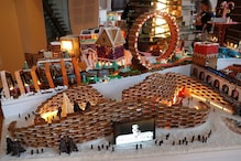 Edible Gingerbread City Baked and Built by Architects at the Victoria & Albert Museum