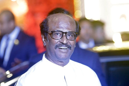 File photo of Rajinikanth. (Image: AP)