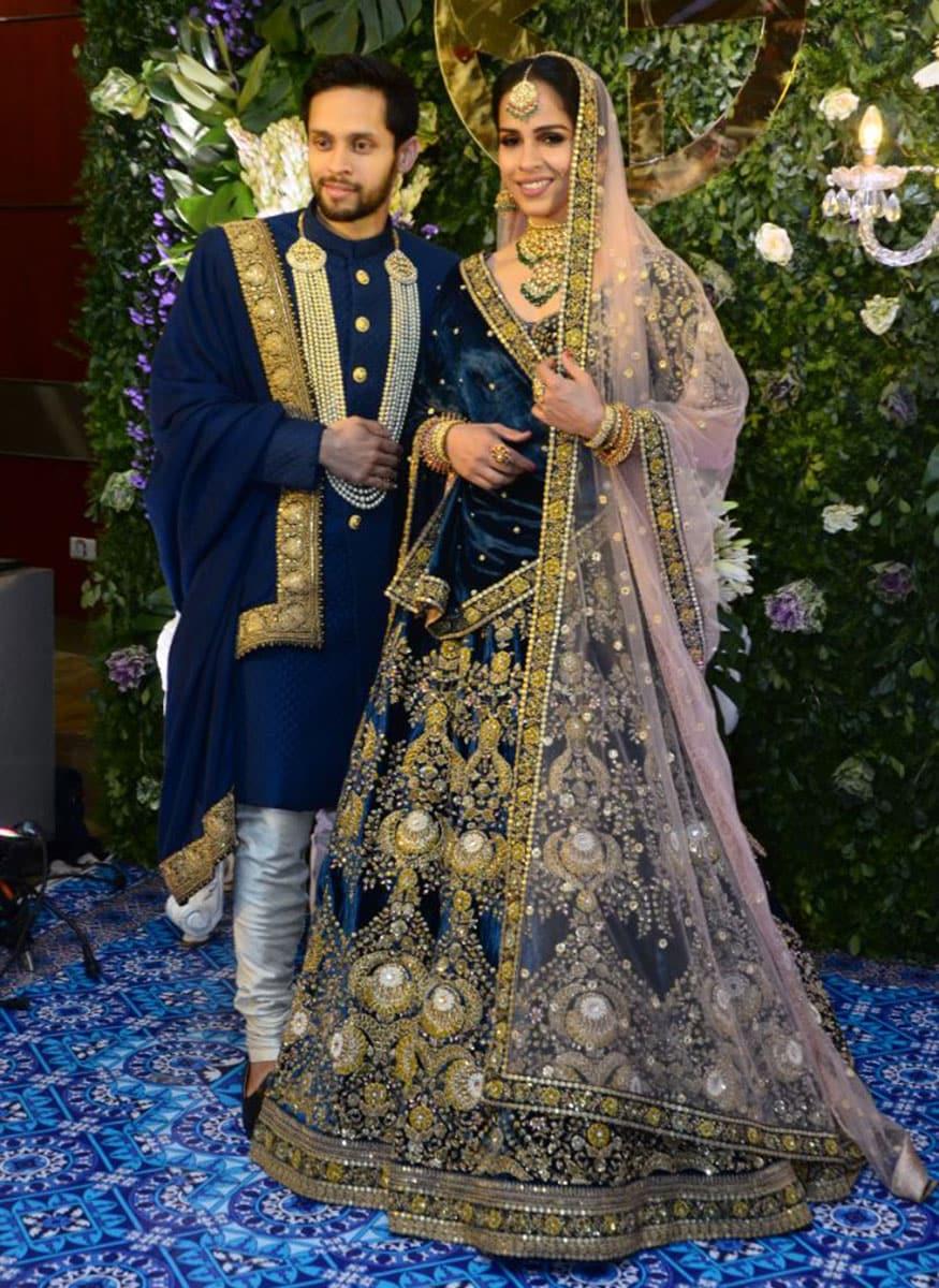 Saina Nehwal and Parupalli Kashyap's Wedding Reception - Photogallery