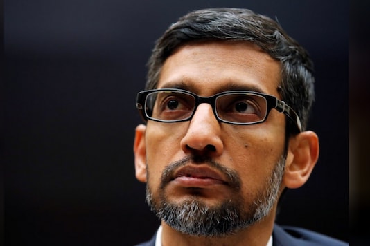 File photo of Alphabet and Google CEO Sundar Pichai (Reuters)