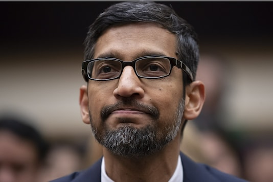 File photo of Google CEO, Sundar Pichai.