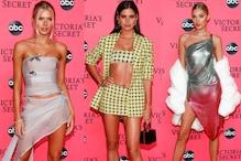 Supermodels Attend Victoria's Secret Fashion Show Viewing Party
