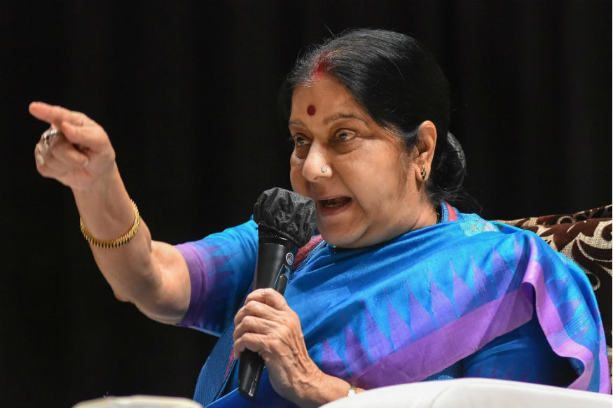 'Happy to See the Care, But...': Pak Min, Sushma Swaraj Indulge in Verbal War After 'Conversion' of Hindus in
