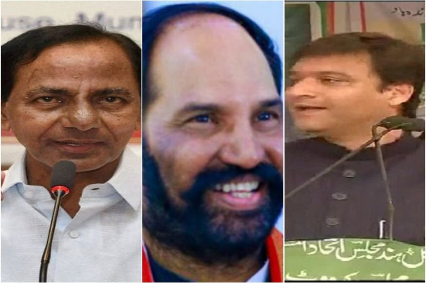 Telangana Elections 2018: Quick Look at the Bigwigs Battling for Power