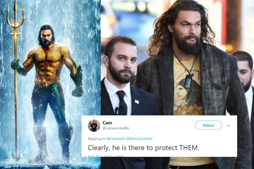 Why Does Aquaman Need Bodyguards? Twitter Has a Laugh After Digging up Old Photo of Jason Momoa