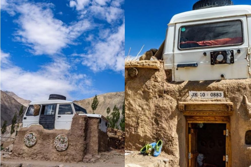 An Institute in Ladakh is Using a Car as 'Alternate' Roof, Anand Mahindra is Impressed