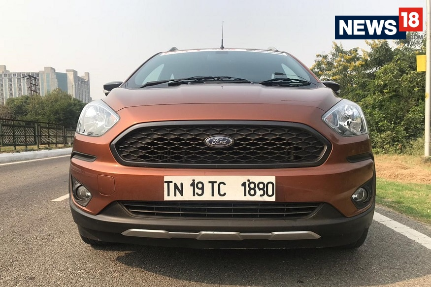 Ford Freestyle hexagonal grille. (Image: Ayushmann Chawla/ News18.com)