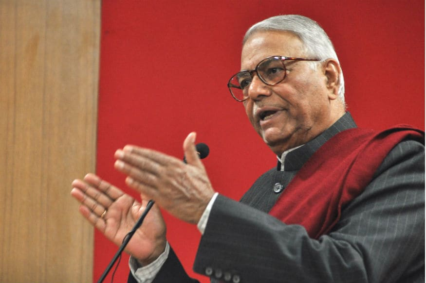 Modi Govt Playing Mischief with Statistics, Says Yashwant Sinha at United India Rally