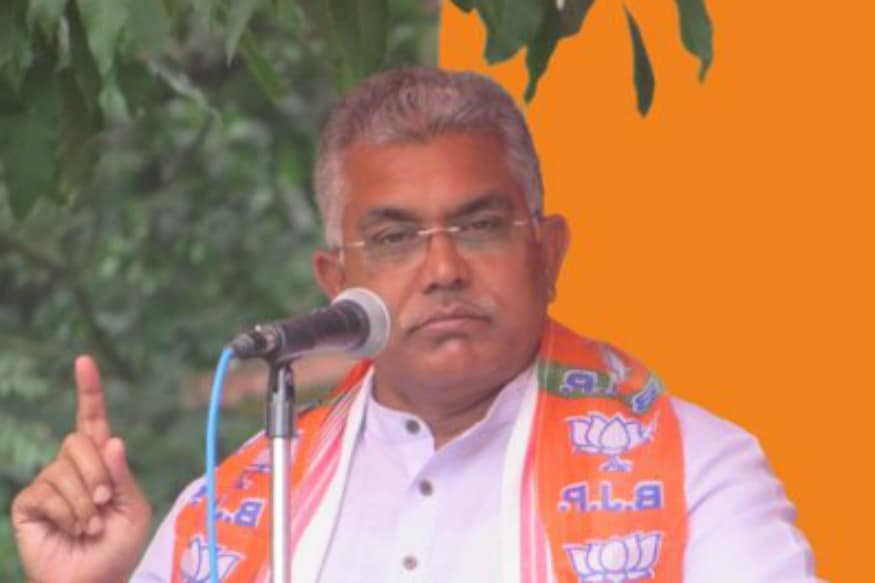 Foreign Terrorists Targeting Me, Claims Bengal BJP Chief Dilip Ghosh