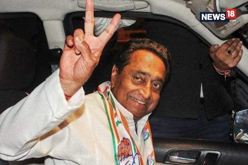 Madhya Pradesh CM Kamal Nath distributed the unified cards to six persons. (Image: News18.com)
