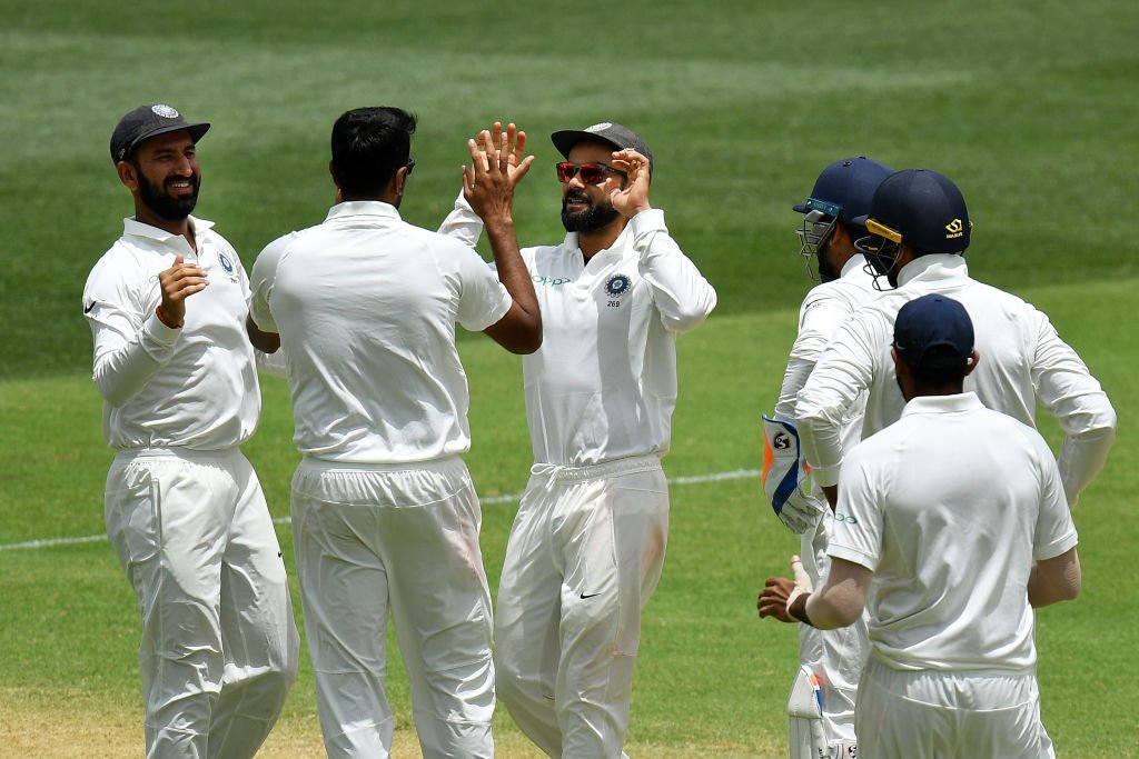 In Pics   India vs Australia, First Test Day Two in Adelaide