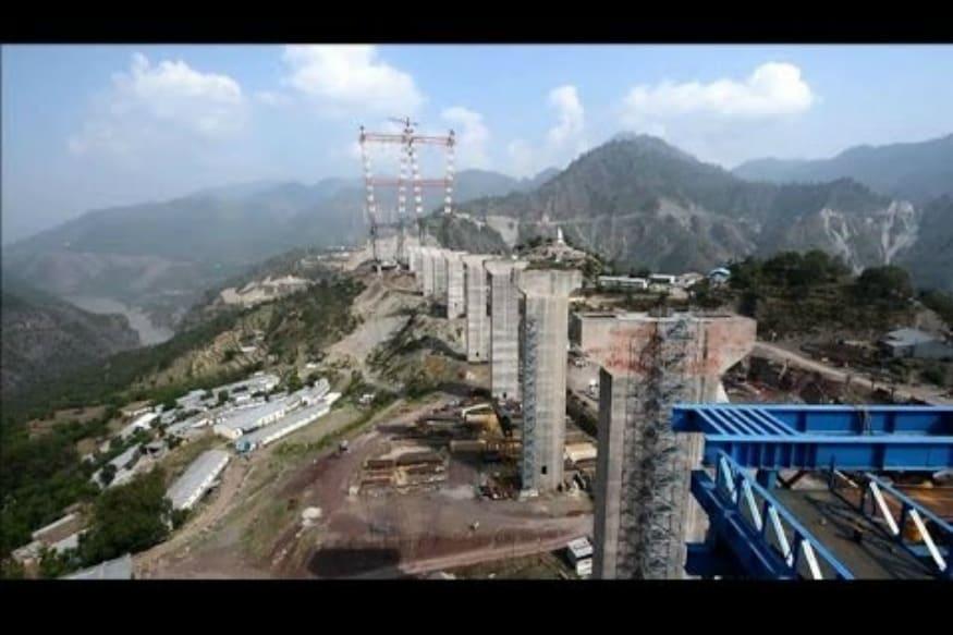Image result for world's tallest railway bridge in Manipur