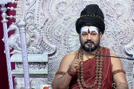 File photo of Nithyananda.