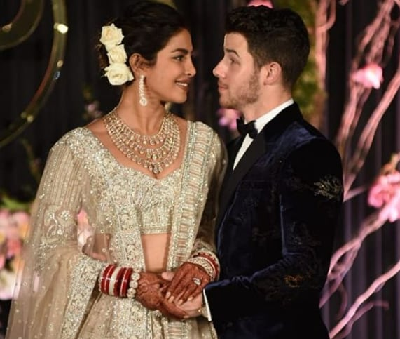 priyanka chopra nick jonas reception