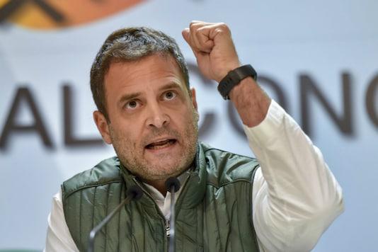 File photo Congress chief Rahul Gandhi. (Photo: PTI)