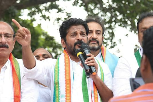 File photo of Revanth Reddy. (Facebook).