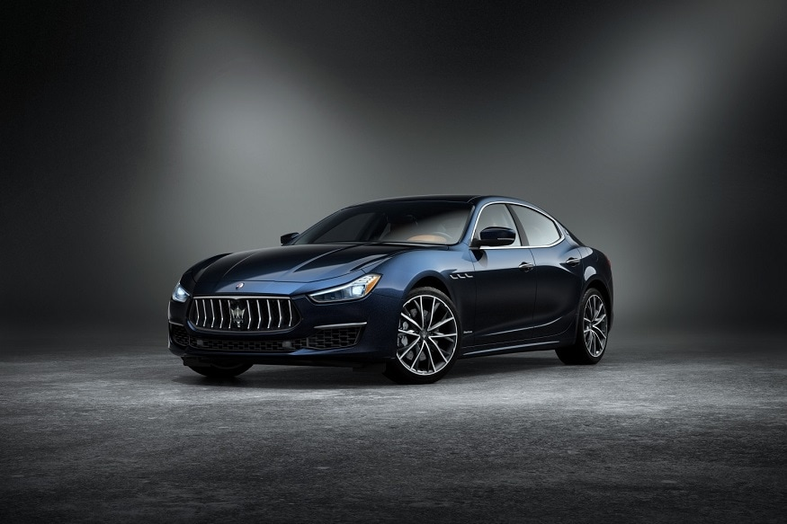GranLusso edition of Maserati Ghibli dressed in the Edizione Nobile package. (Image: AFP Relaxnews)