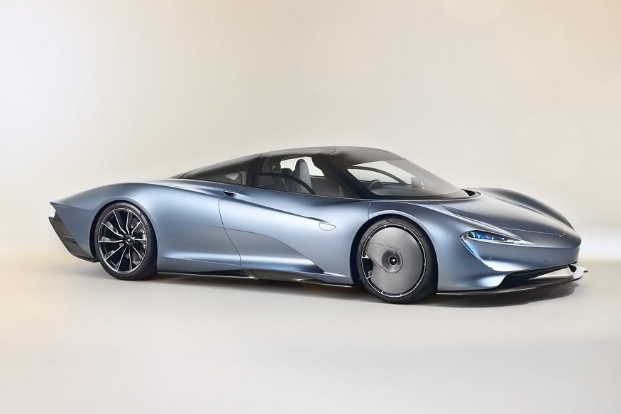 The McLaren Speedtail, (Image: AFP Relaxnews)