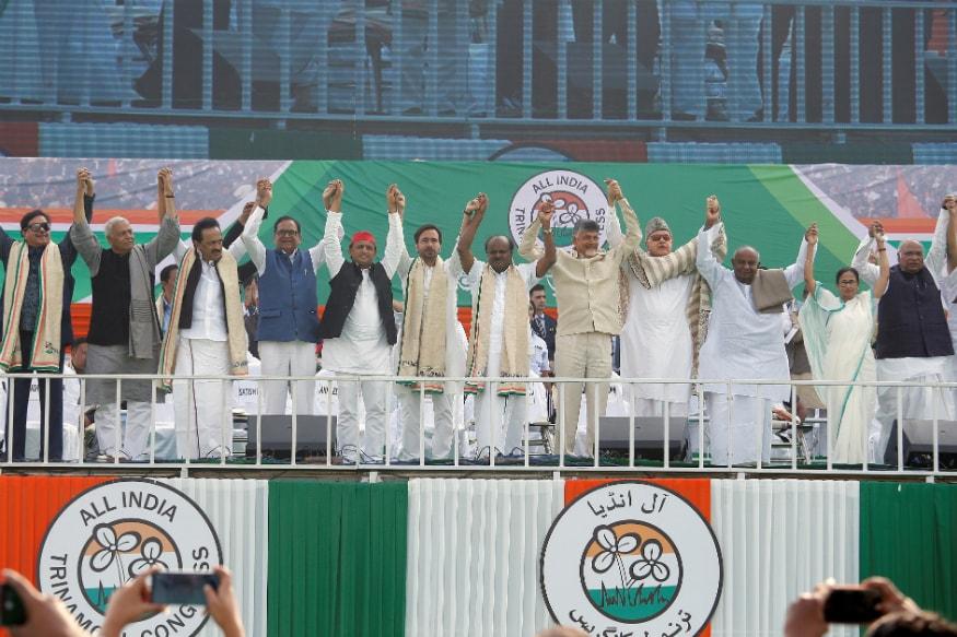'BJP Hatao' Agenda Binds Together 23 Opposition Parties at Mamata Banerjee's Mega Rally