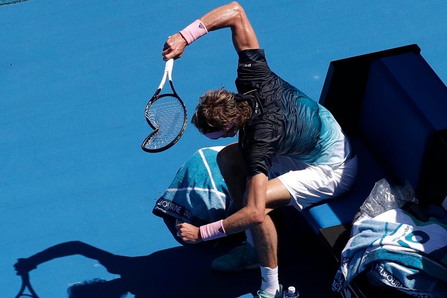 Australian Open: Zverev Implodes as Osaka Sets up Svitolina Quarter-final