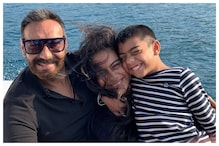 Ajay Devgn Posts Throwback Pic with Kajol and Son Yug from Thailand Holiday