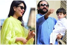 Taimur Ali Khan, Kareena Kapoor Khan & Saif Ali Khan Hoist Tricolour in Traditional Outfits on Republic Day