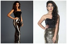Priya Prakash Varrier Dons Deepika Padukone Inspired Sequined Outfit at Sridevi Bungalow Launch