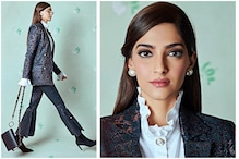 Sonam Kapoor Brings Back Charming Vintage Blazer & Bell Bottom Pants for 'Ek Ladki...' Promotions
