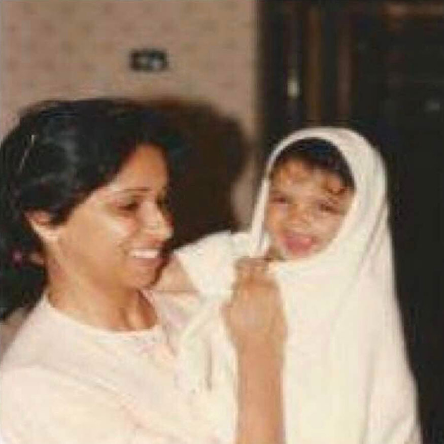 Bollywood actress Deepika Padukone, who turns 35, looks cute and adorable in this childhood picture. (Image: Instagram)