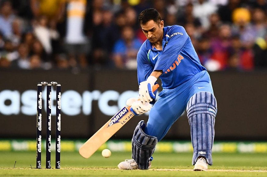 MS Dhoni played 87* runs match winning knock against Australia in third ODI (photo - ICC)