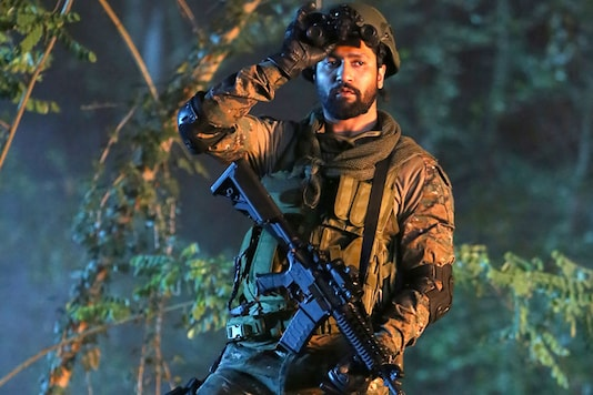 Vicky Kaushal in a still from Uri: The Surgical Strike.