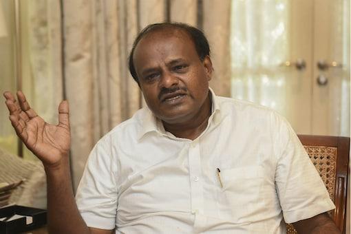 HD Kumaraswamy  (File photo)