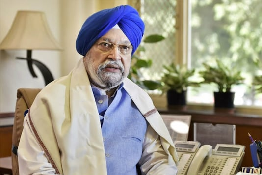 File photo of Hardeep Singh Puri (Image Source: PTI)