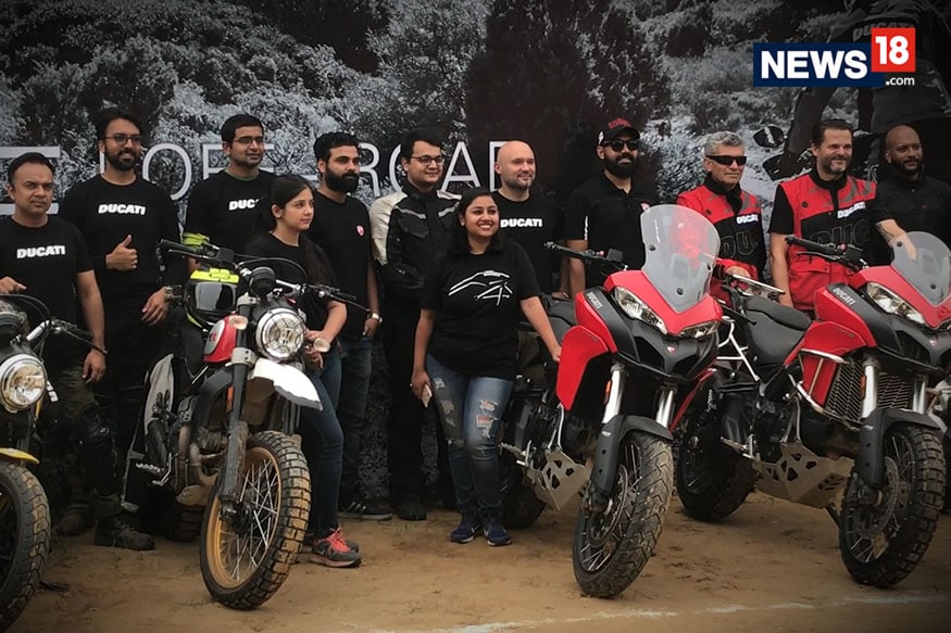 Ducati DRE Off-Road Days Experience - Learning the Adventure